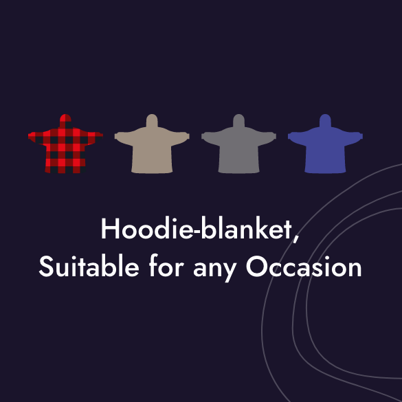Hoodie Blanket for Any Occation